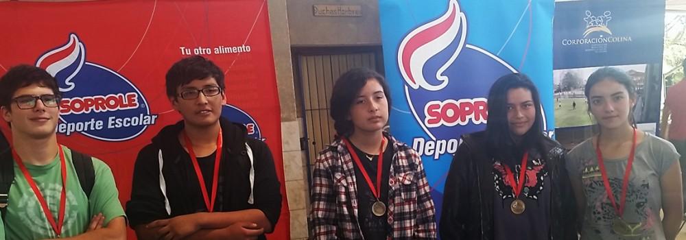 Bicentenario de Colina se coronó como el mejor colegio nacional en ajedrez de la Copa Soprole