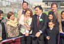Inauguración del Centro Deportivo Santa Marta de Liray
