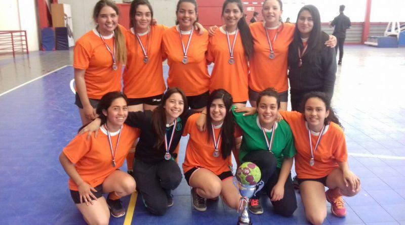 Liceo obtiene segundo lugar en campeonato provincial de Handbol
