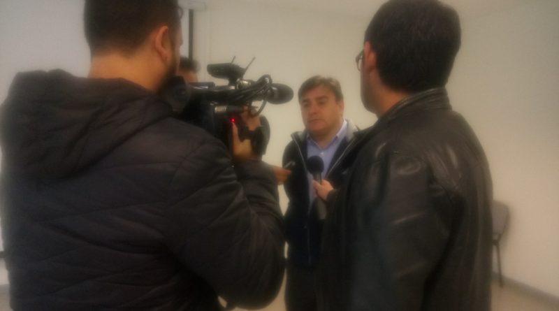 Alcalde de Colina Visita el Liceo