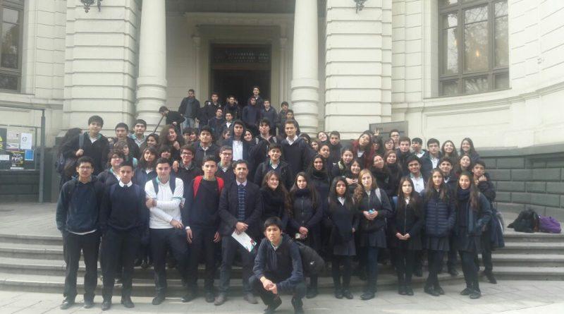 Visita a la U. de Chile Campus Beauchef
