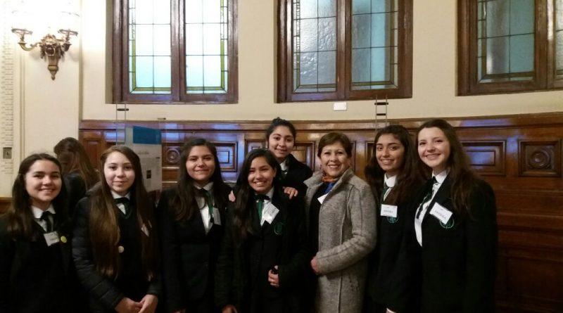 Liceo STA presente en la inauguración de inspiring girls Chile