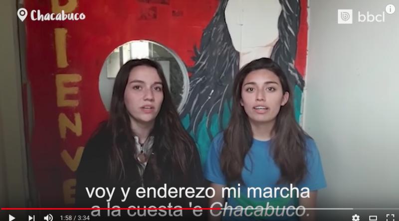 """Liceo Bicentenario STA Presente en tributo a Violeta Parra """"on Line"""""""