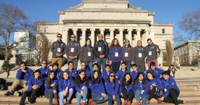 ESTUDIANTES DE LICEOS MUNICIPALES DE COLINA VIAJARON A PERFECCIONAR SU INGLÉS A NUEVA YORK
