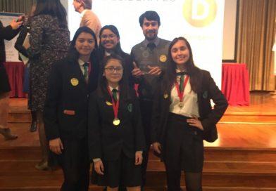 Estudiantes del Liceo obtienen 2° lugar en Torneo Delibera.