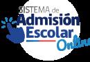 Admisión Escolar 2020: 10 de septiembre finaliza el plazo de postulación.