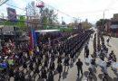 Impecable participación del Liceo Bicentenario en el Desfile Cívico Militar de Colina