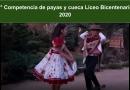 1° Competencia de payas y cueca Liceo Bicentenario 2020